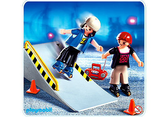 http://media.playmobil.com/i/playmobil/4415-A_product_detail/2 Skater mit Rampe