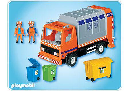 4418-A Camion de recyclage ordures detail image 2