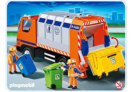4418-A Camion de recyclage ordures detail image 1