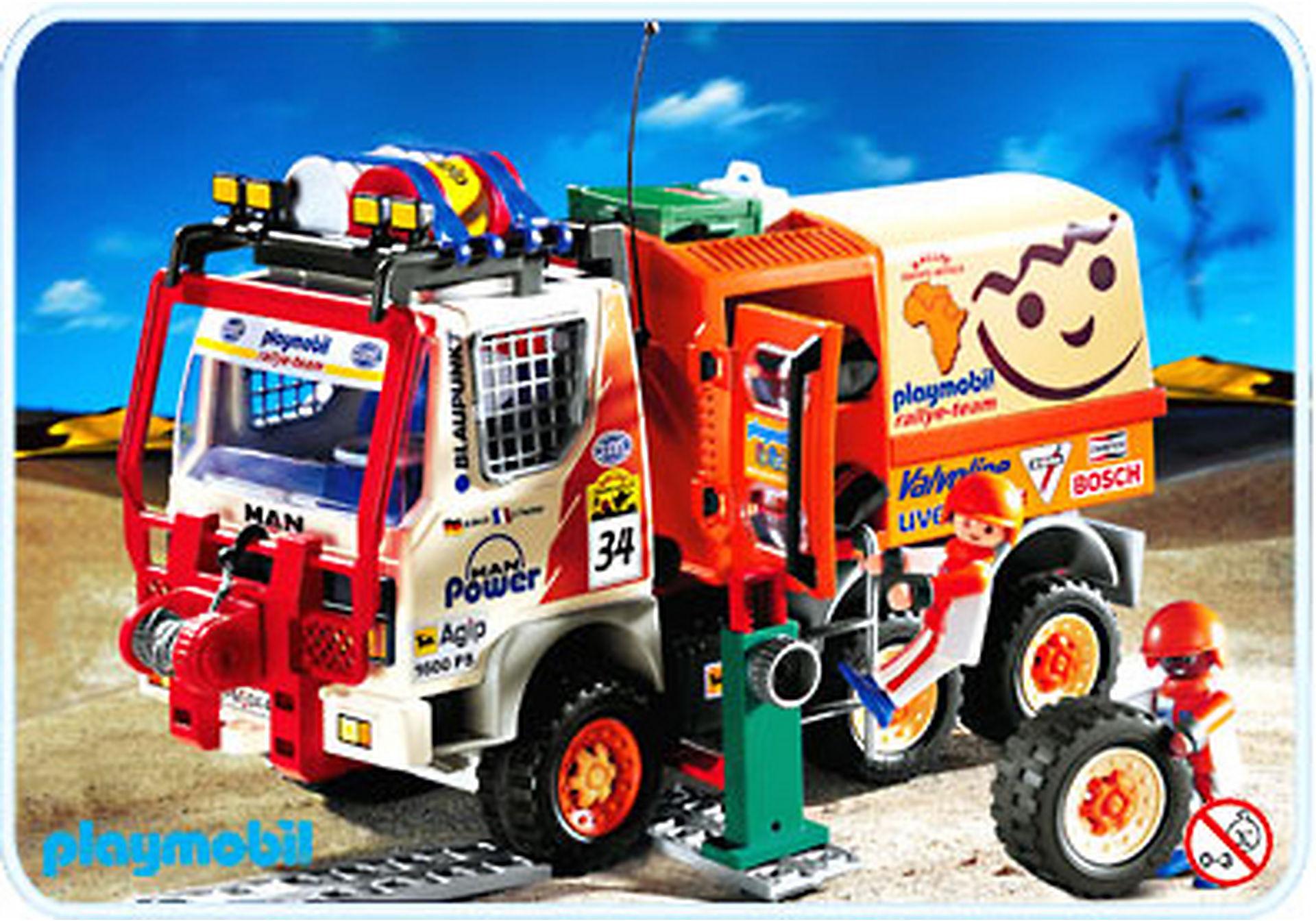 4420-A Pilotest / camion de rallye zoom image1