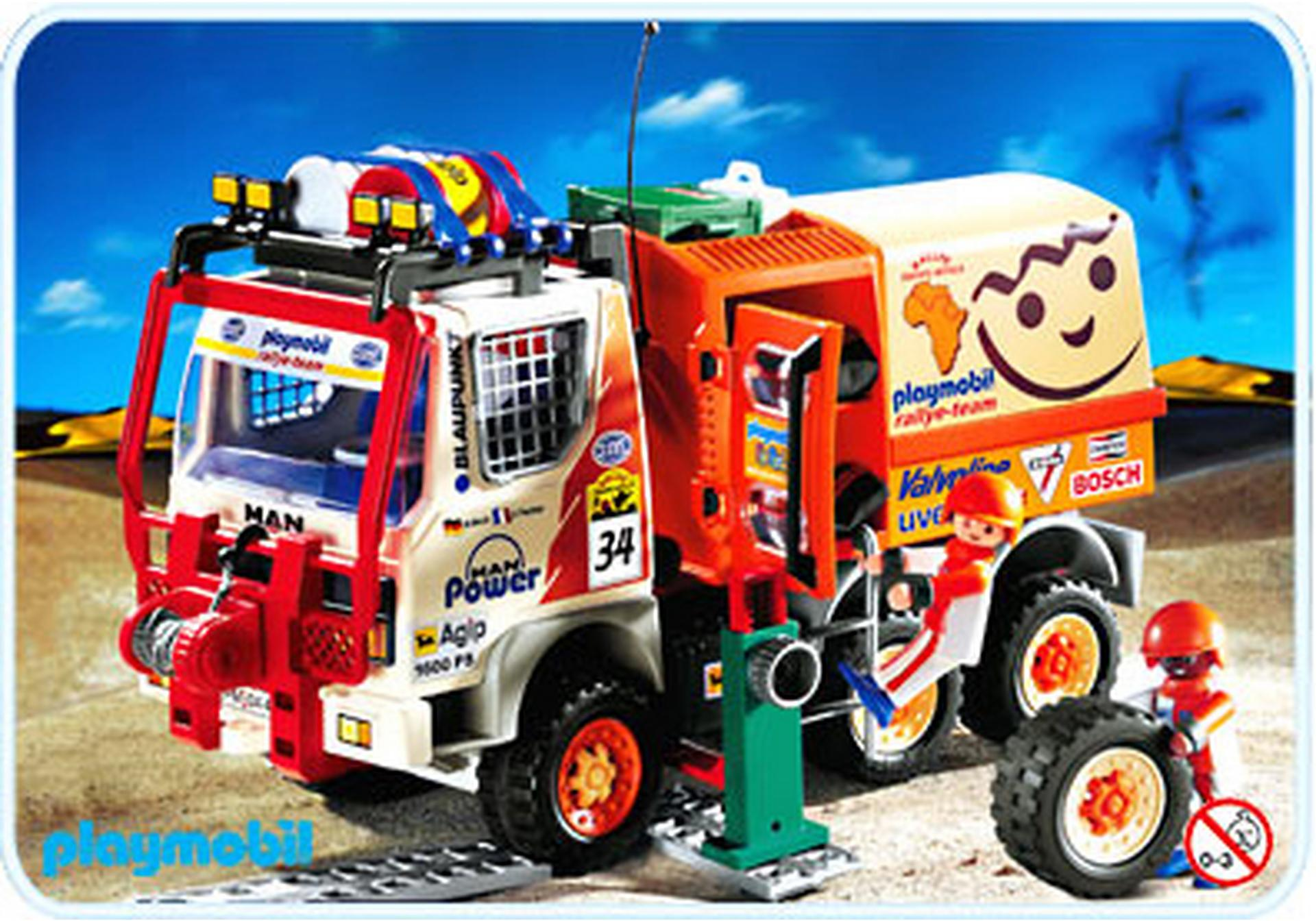 rallye truck 4420 a playmobil deutschland. Black Bedroom Furniture Sets. Home Design Ideas