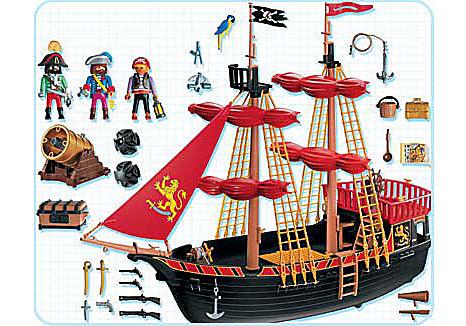 4424-A Piratenkaperschiff detail image 2