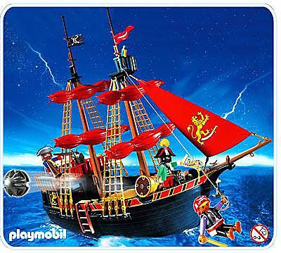 4424-A Piratenkaperschiff detail image 1