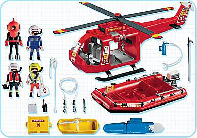 4428-A SOS-Helikopter/Rettungsboot detail image 2