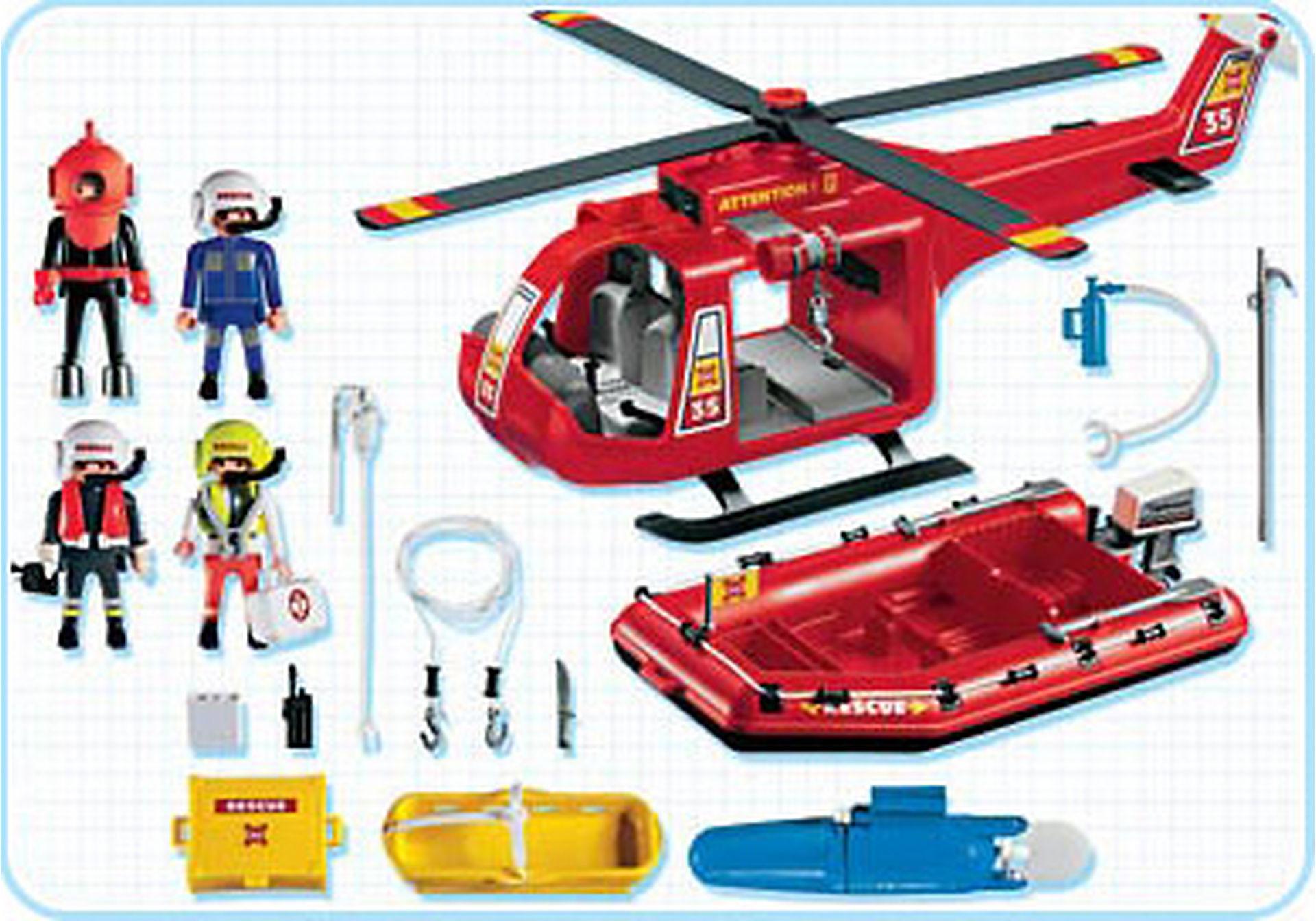 4428-A SOS-Helikopter/Rettungsboot zoom image2