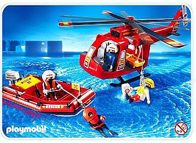 4428-A SOS-Helikopter/Rettungsboot detail image 1