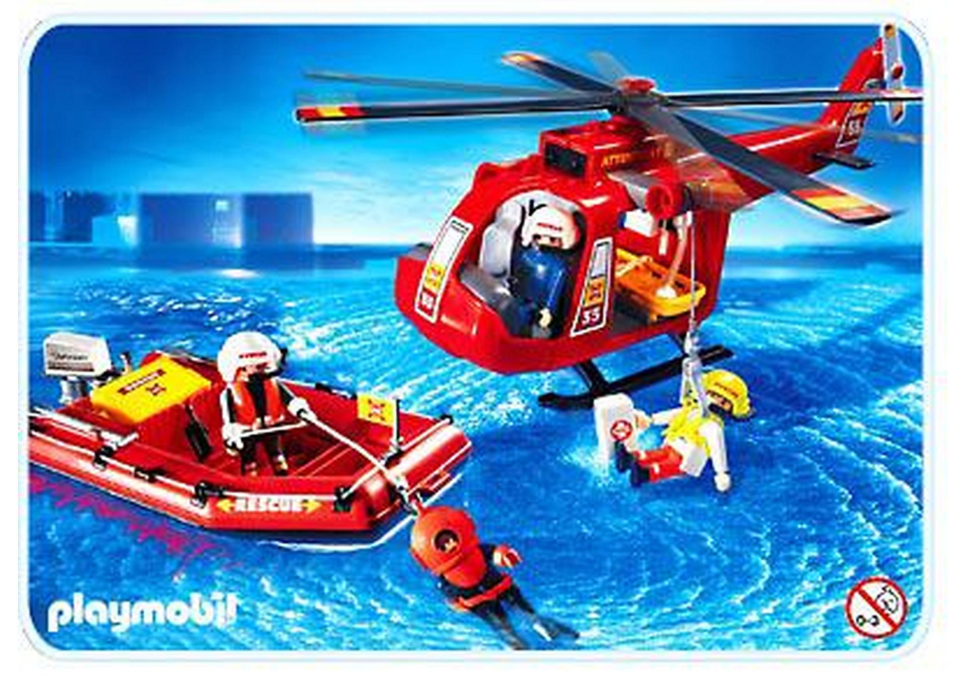 4428-A SOS-Helikopter/Rettungsboot zoom image1