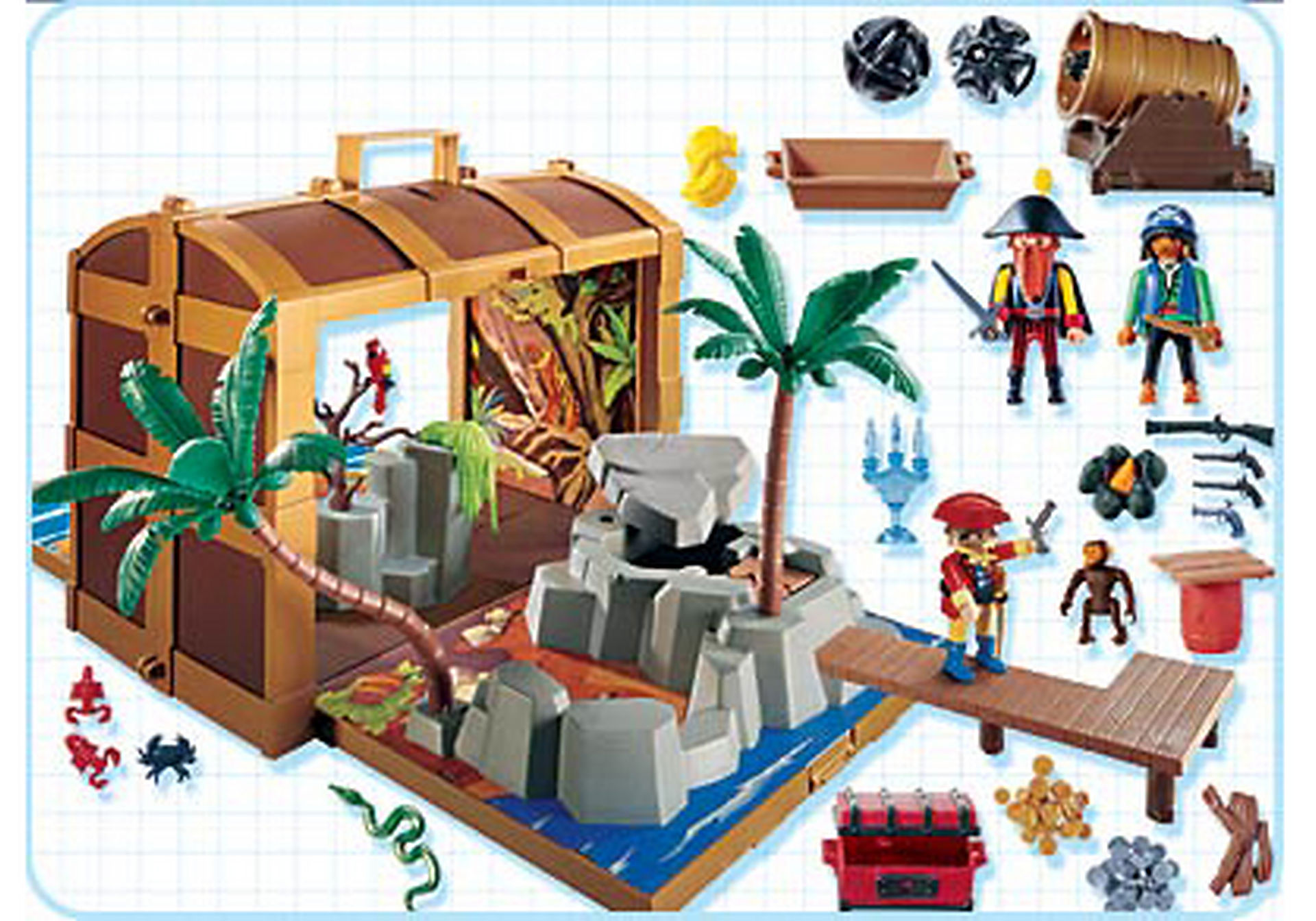 4432-A Coffre au trésor des pirates zoom image2