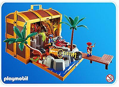 4432-A Coffre au trésor des pirates detail image 1