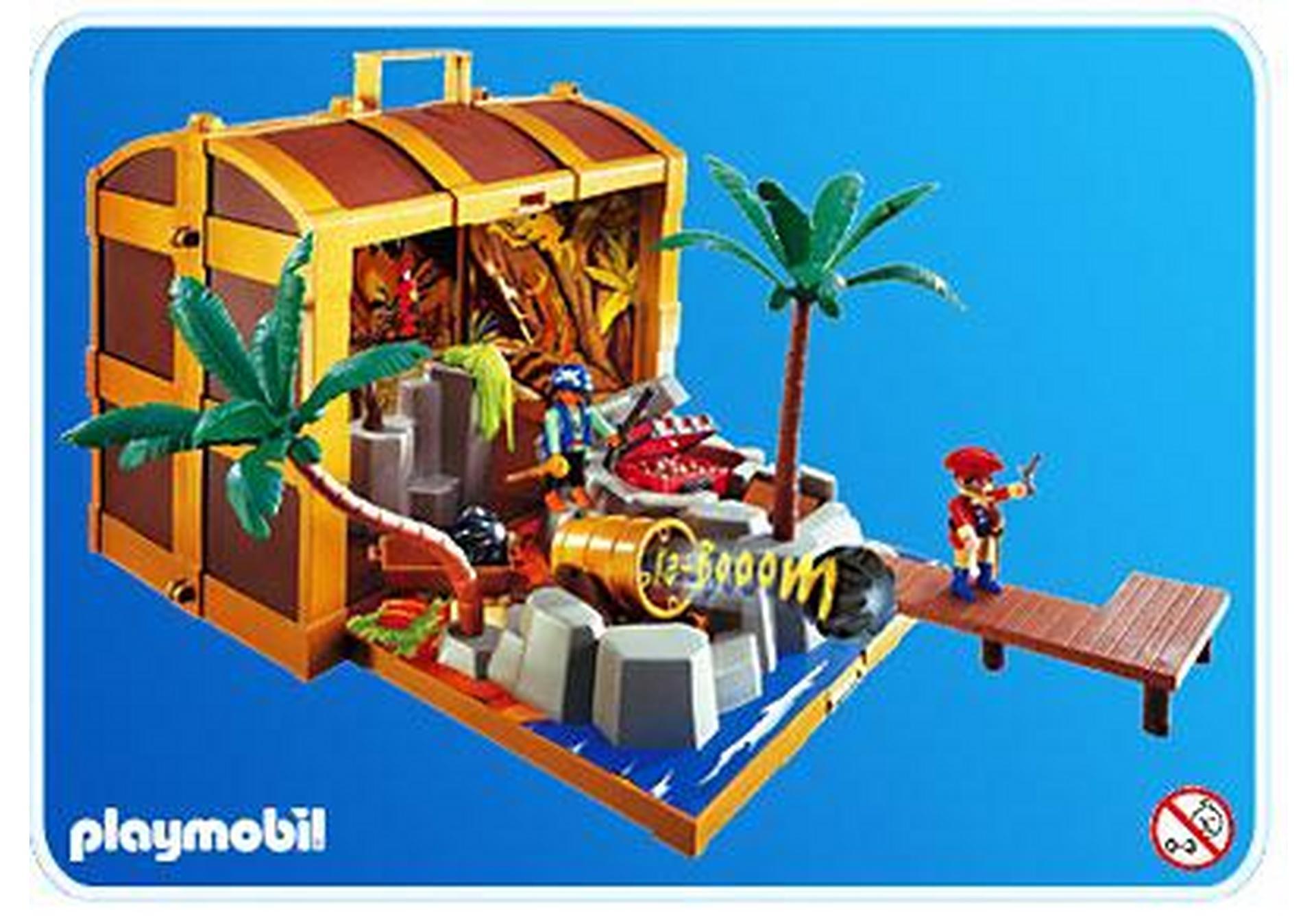 coffre au tr sor des pirates 4432 a playmobil france. Black Bedroom Furniture Sets. Home Design Ideas