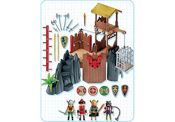 http://media.playmobil.com/i/playmobil/4433-A_product_box_back/Vikings / forteresse