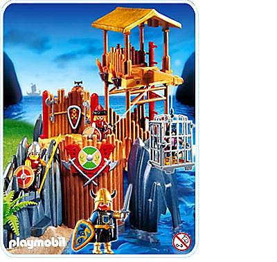 http://media.playmobil.com/i/playmobil/4433-A_product_detail/Vikings / forteresse