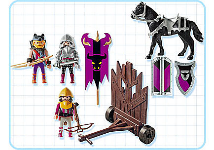 4437-A Barbaren mit Sturmwand detail image 2