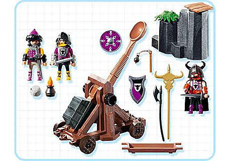 4438-A Barbaren mit Katapult detail image 2