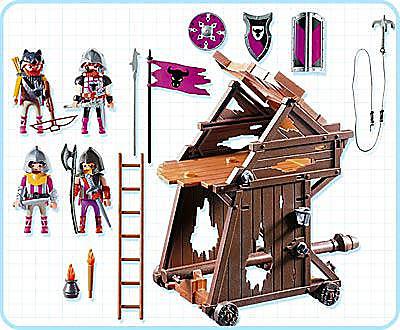 4439-A Barbaren-Angriffsturm detail image 2