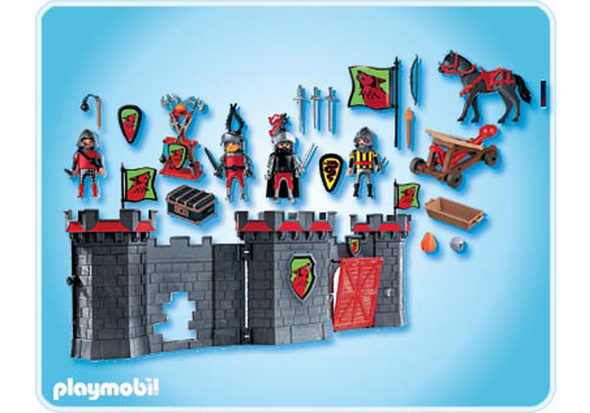 citadelle des chevaliers transportable 4440 a playmobil france. Black Bedroom Furniture Sets. Home Design Ideas