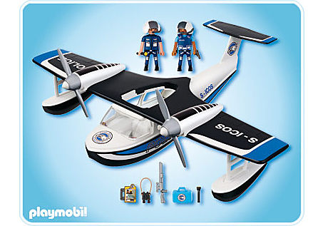 4445-A Polizei-Wasserflugzeug detail image 2