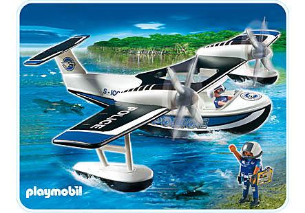 4445-A Polizei-Wasserflugzeug detail image 1
