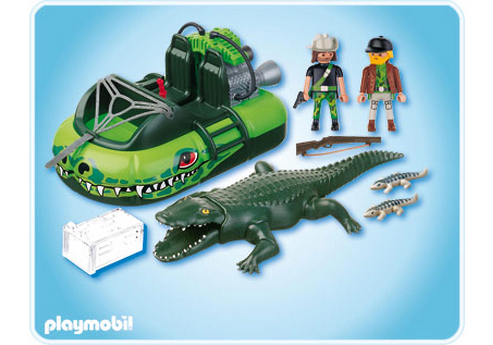 http://media.playmobil.com/i/playmobil/4446-A_product_box_back/Braconniers et aéroglisseur avec alligator