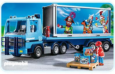playmobil truck 4447