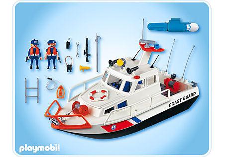 4448-A Gardes-côte et bateau detail image 2