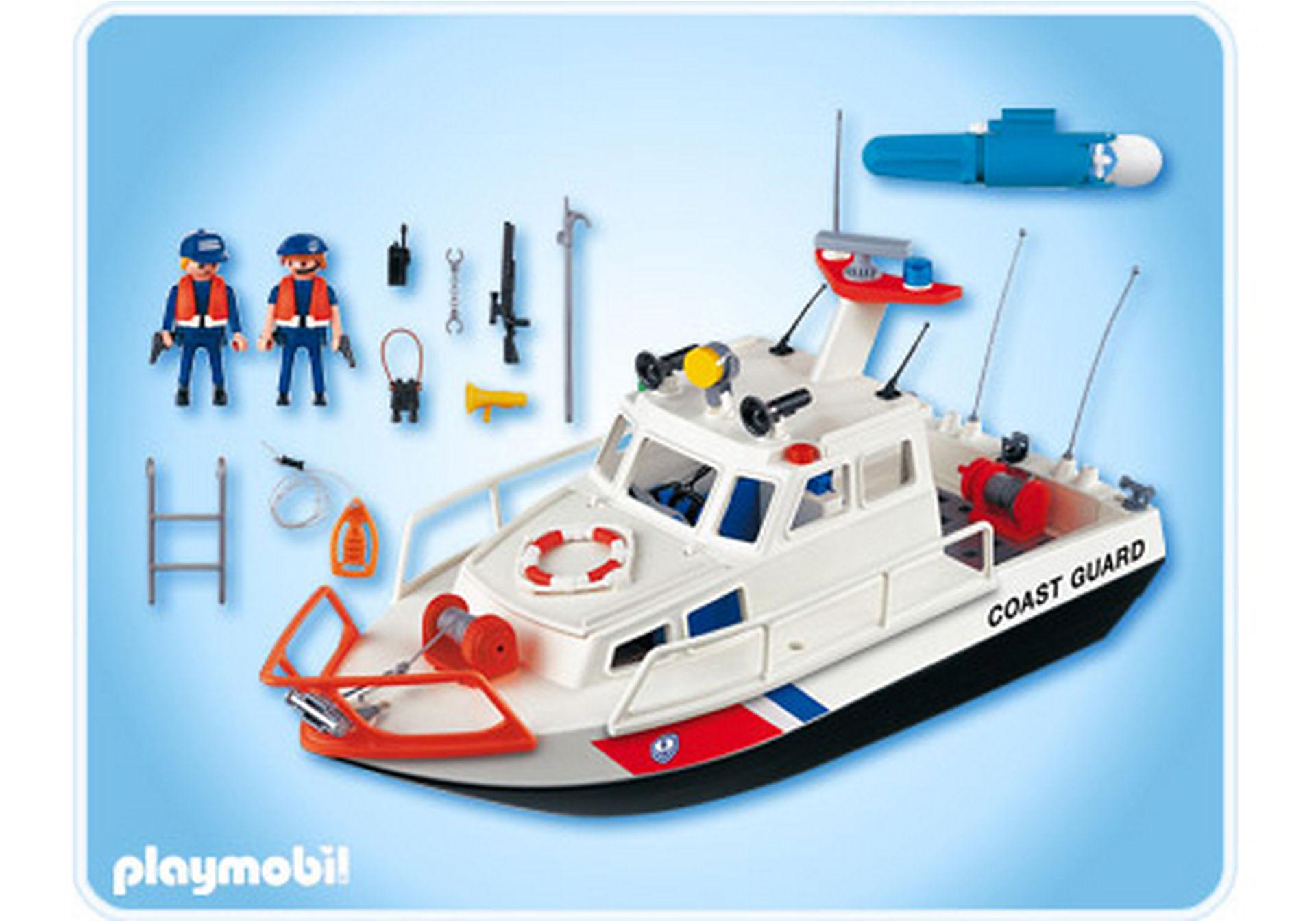4448-A Gardes-côte et bateau zoom image2