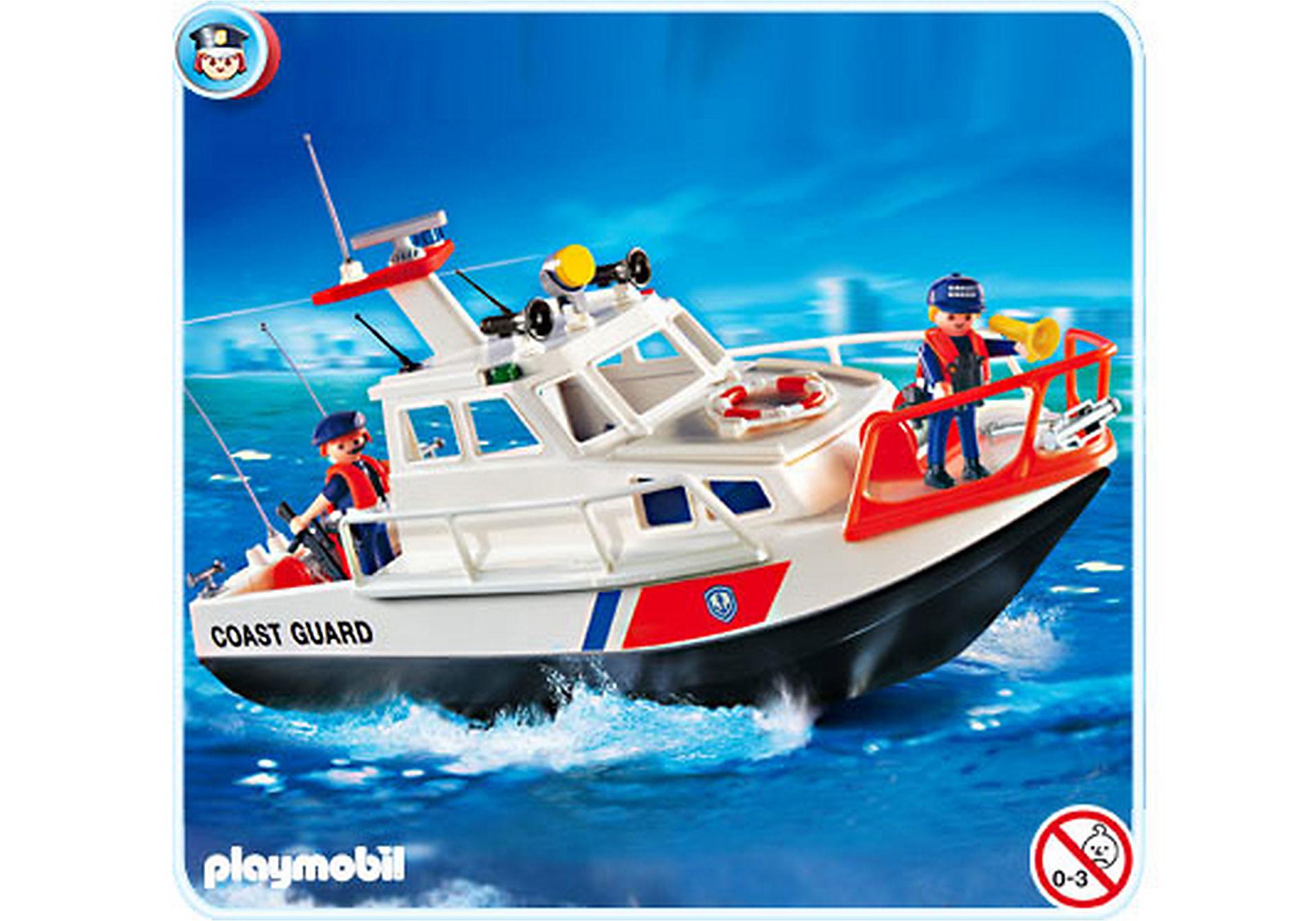 4448-A Gardes-côte et bateau zoom image1