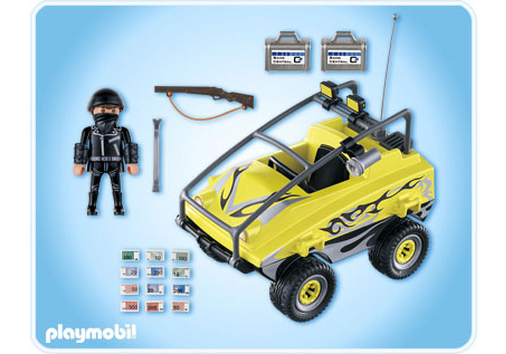4449-A Gangster-Amphibienfahrzeug zoom image2