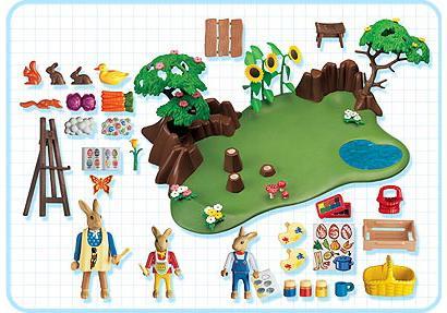 http://media.playmobil.com/i/playmobil/4450-A_product_box_back/Famille Lapin atelier de peinture