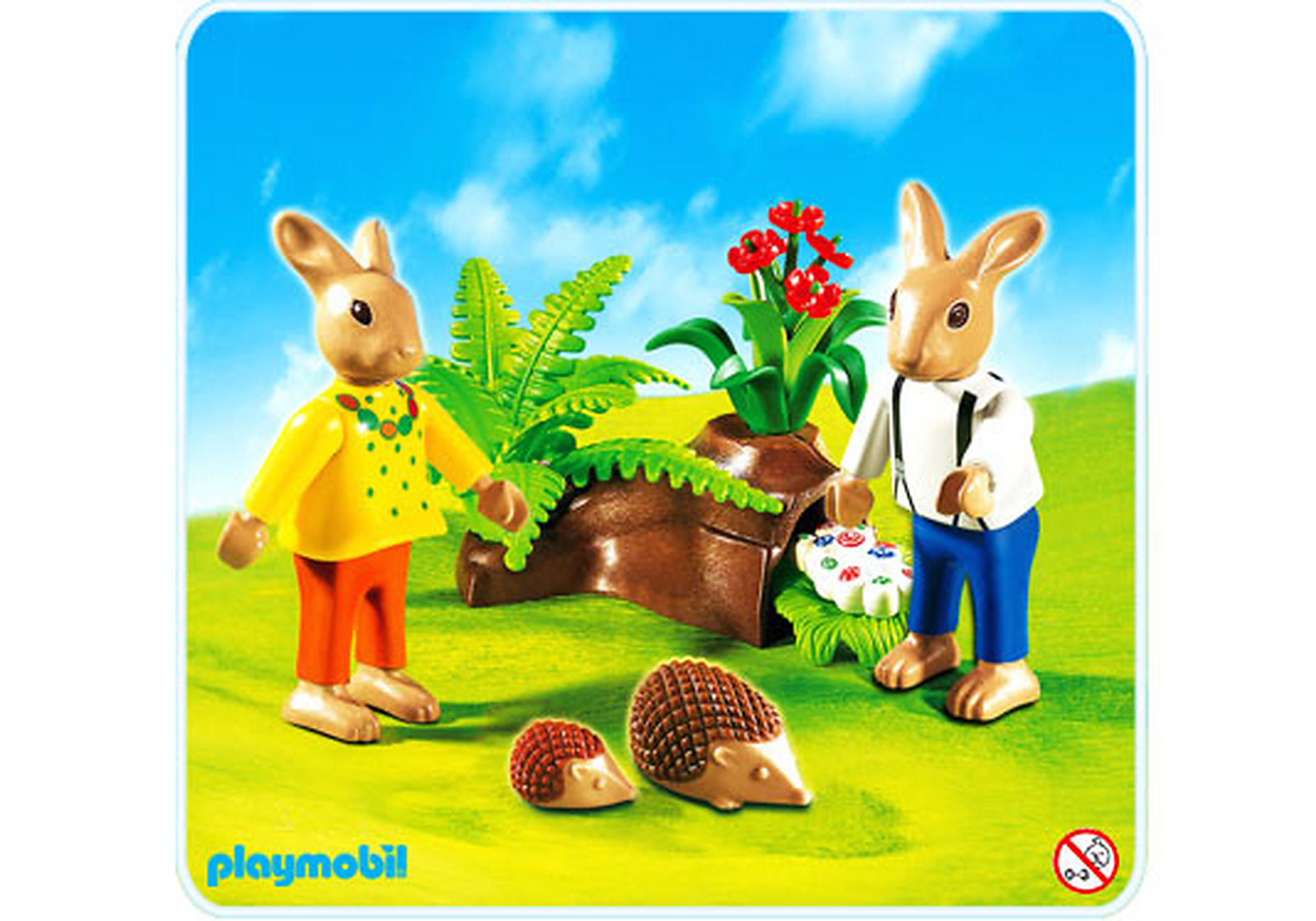 http://media.playmobil.com/i/playmobil/4454-A_product_detail/2 Osterhäschen mit Eierversteck