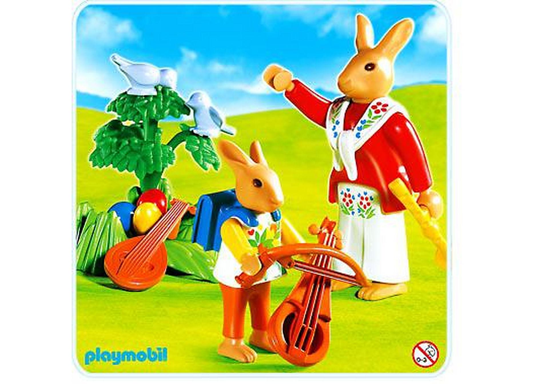4456-A Häschen-Musikstunde zoom image1