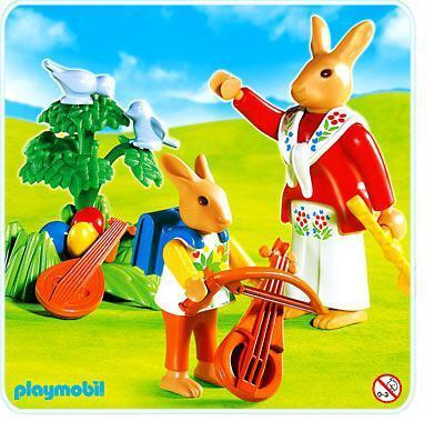 http://media.playmobil.com/i/playmobil/4456-A_product_detail/Lapins / leçon de musique