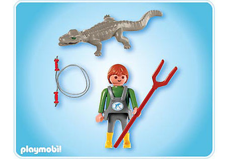 http://media.playmobil.com/i/playmobil/4465-A_product_box_back/Soigneur d'animaux  avec caïman