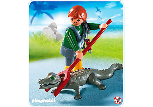 http://media.playmobil.com/i/playmobil/4465-A_product_detail/Soigneur d'animaux  avec caïman