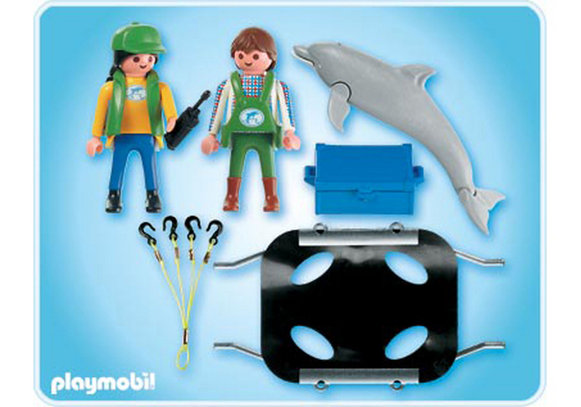 4466-A Tierpfleger mit Delfin zoom image2