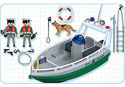 4471-A Douaniers / bateau detail image 2
