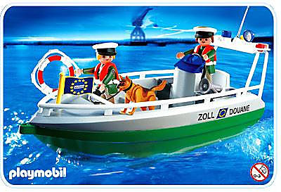 4471-A Douaniers / bateau detail image 1
