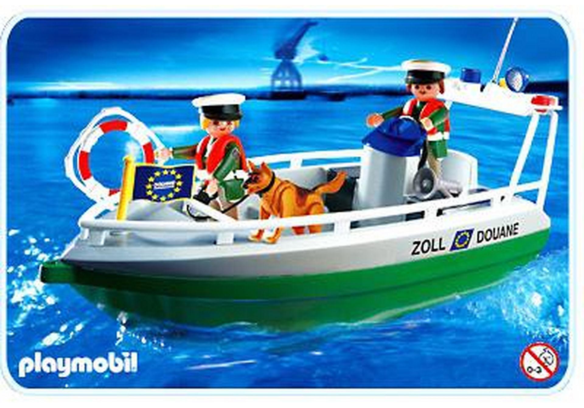 4471-A Douaniers / bateau zoom image1