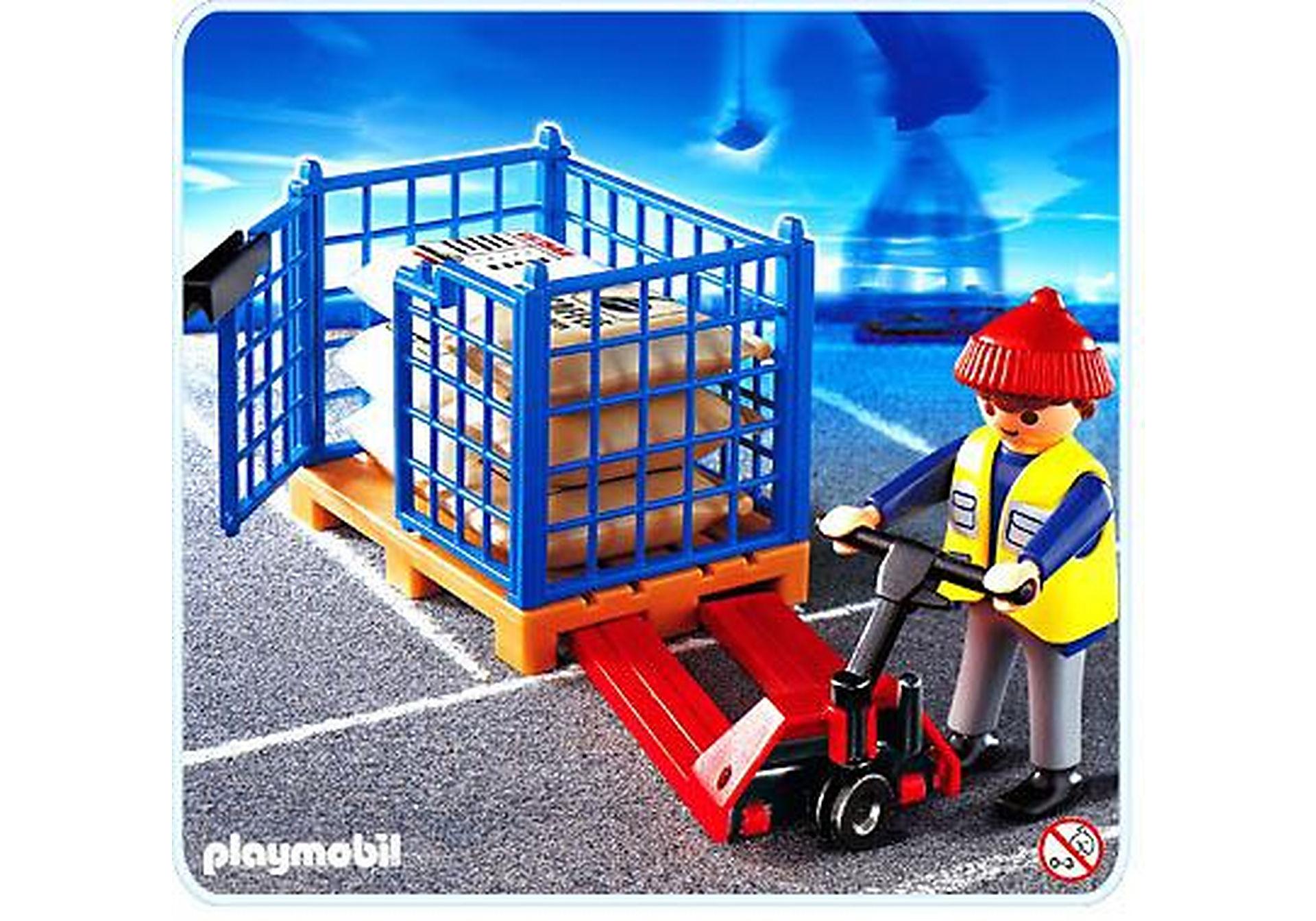 4474-A Docker avec transpalette zoom image1