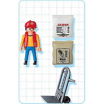 4475-A Docker avec chariot detail image 2