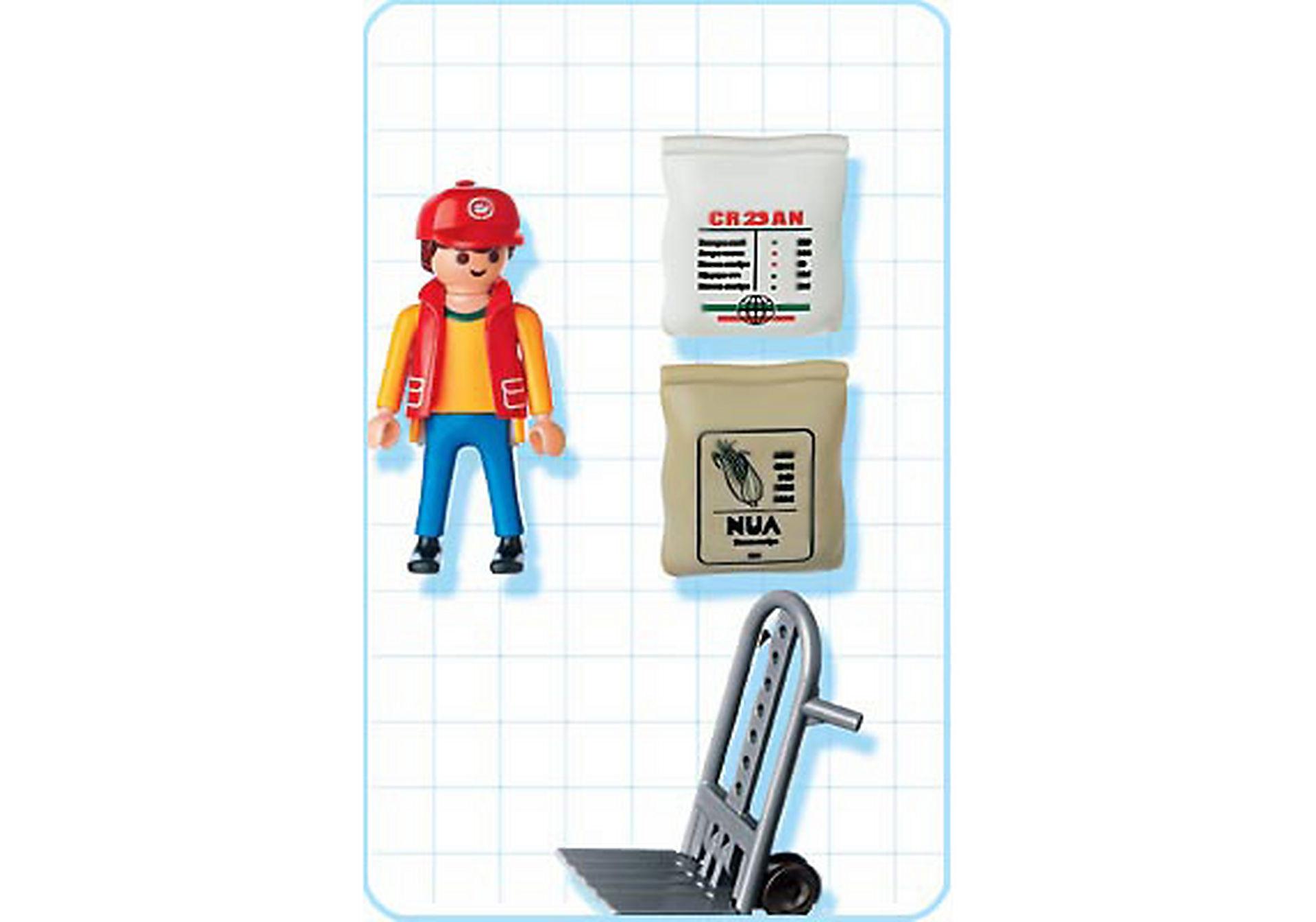 4475-A Hafenarbeiter mit Sackkarre zoom image2