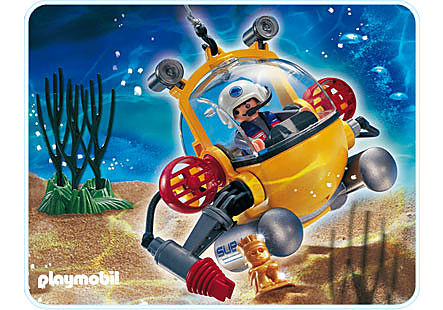 4478-A Explorateur avec cloche de plongée detail image 1