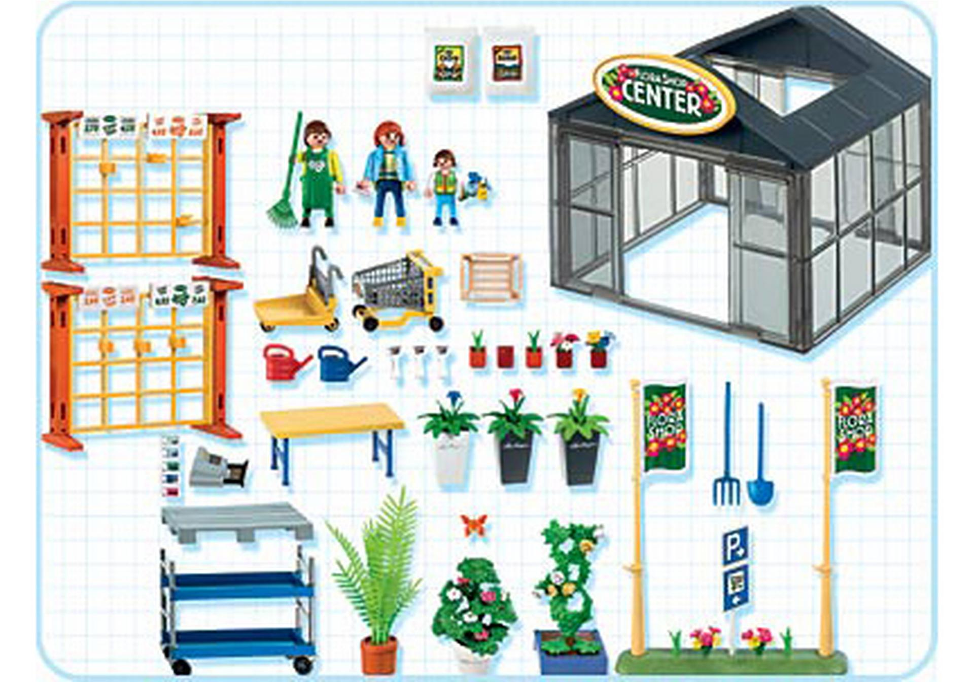 Gartencenter 4480 A Playmobil Deutschland