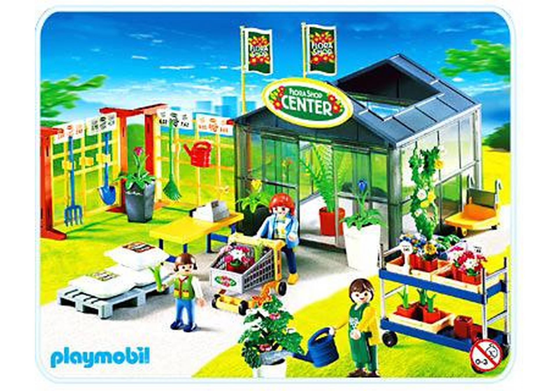 Jardinerie 4480 A Playmobil France