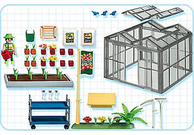 4481-A Gewächshaus detail image 2