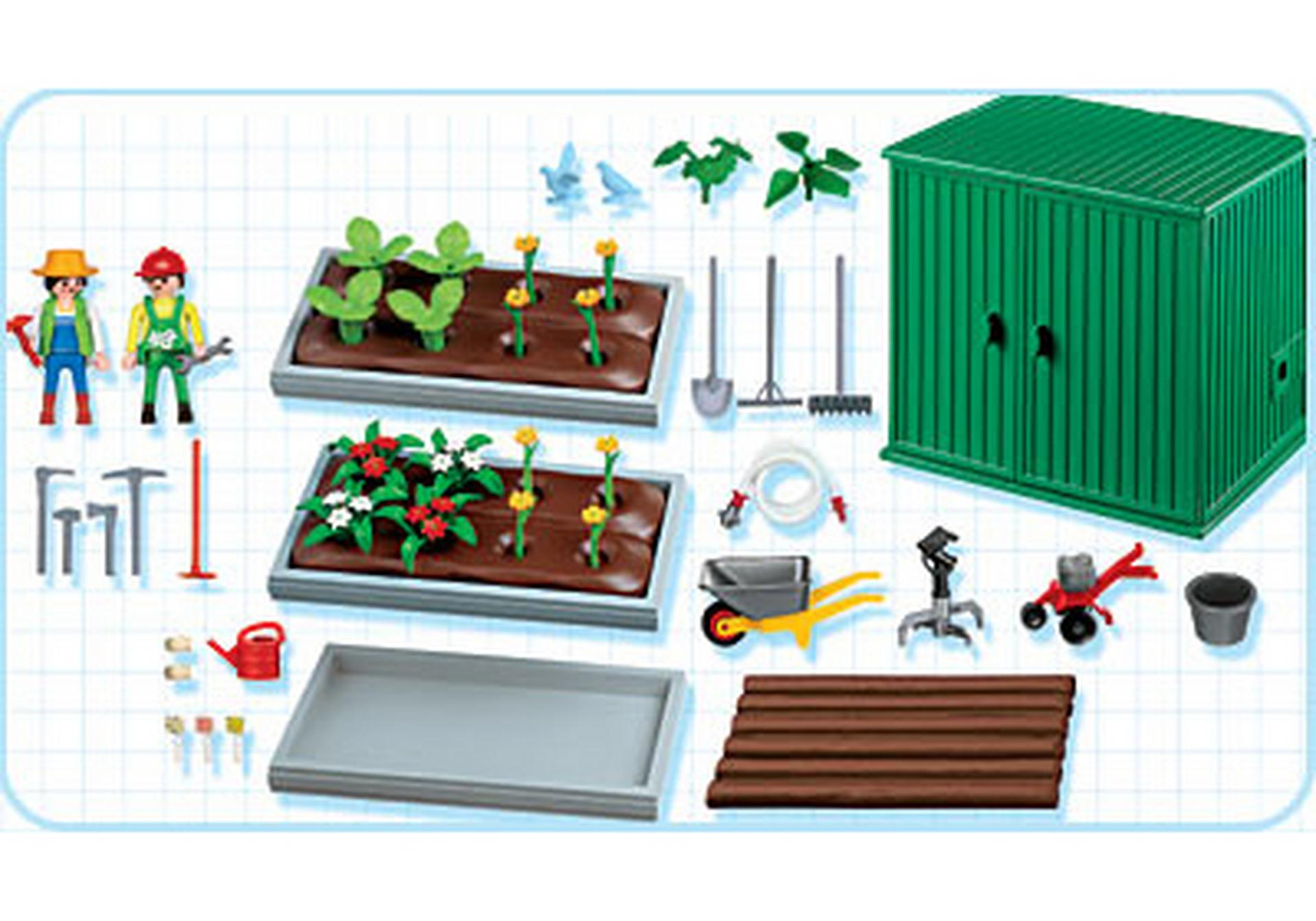 Horticulteurs / plantations / abri de jardin - 4482-A - PLAYMOBIL ...