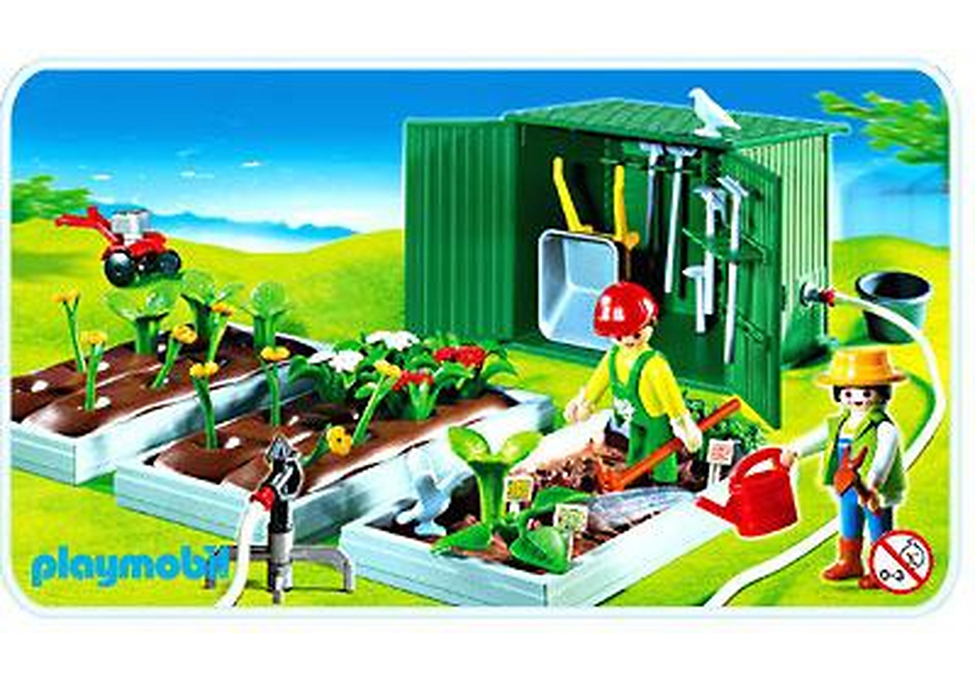 4482-A Horticulteurs / plantations / abri de jardin zoom image1