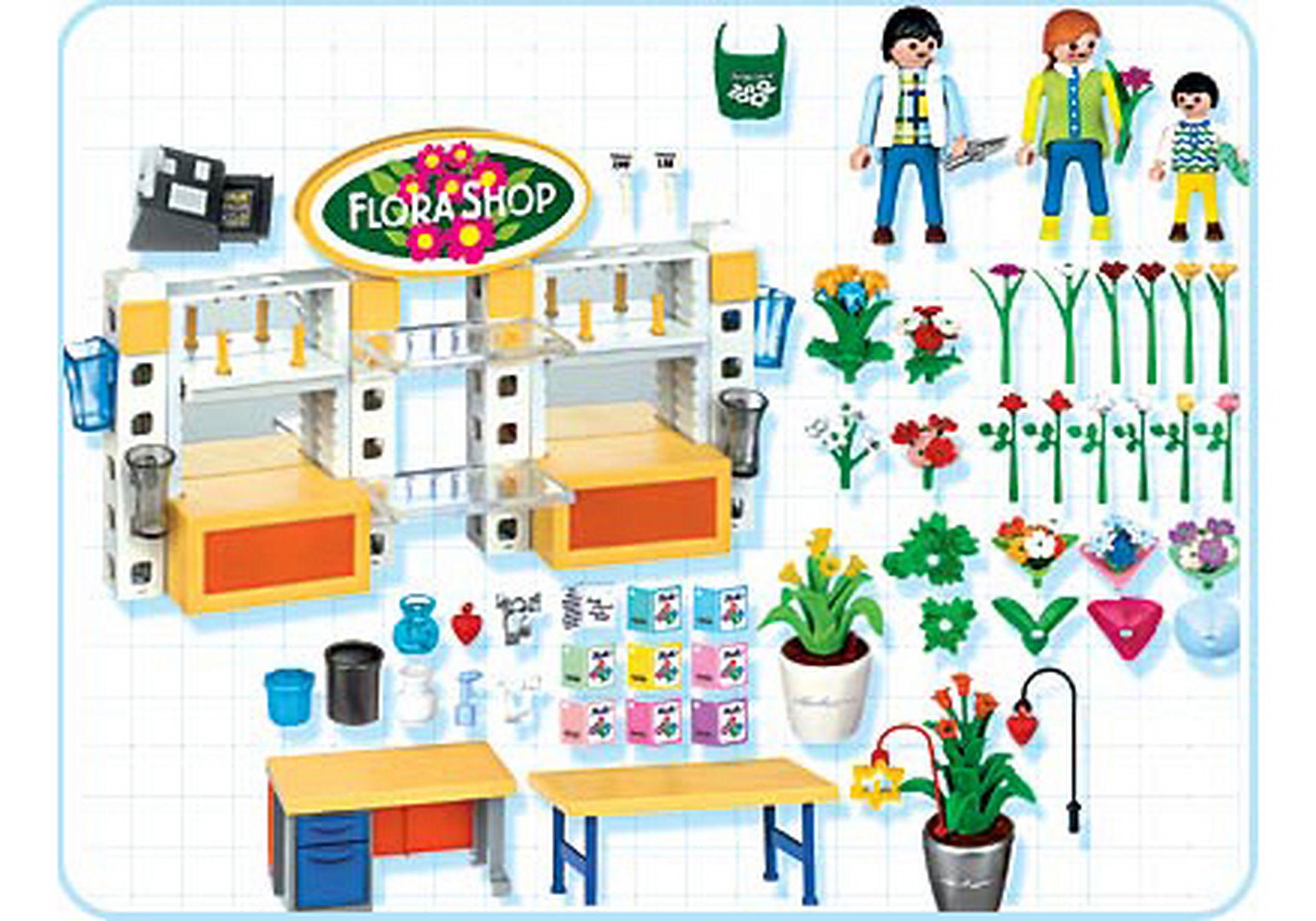 fleuriste magasin de fleurs 4484 a playmobil france. Black Bedroom Furniture Sets. Home Design Ideas