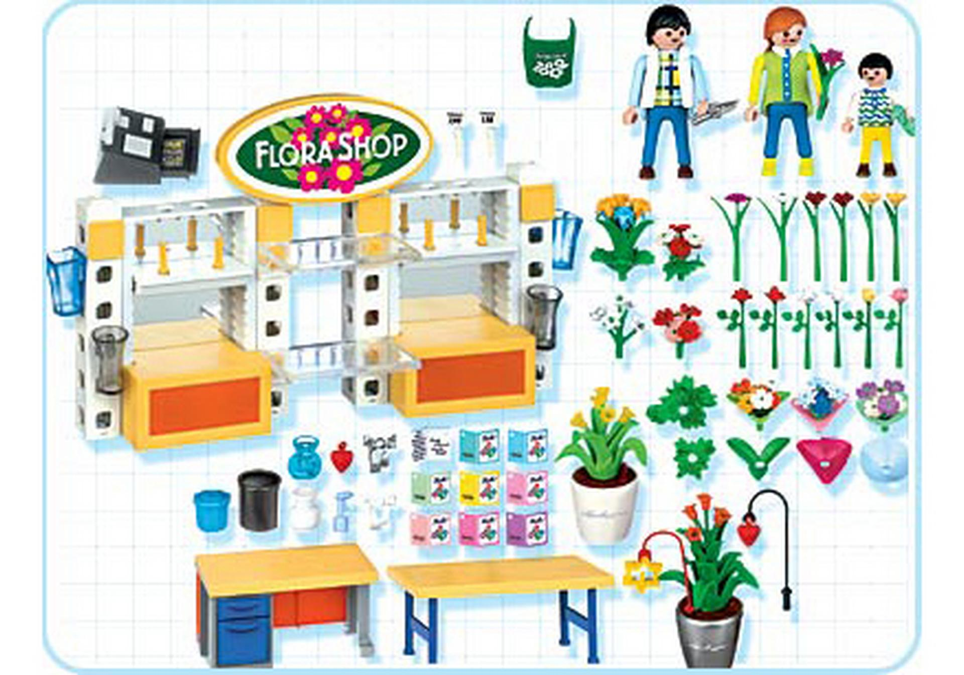 fleuriste magasin de fleurs 4484 a playmobil france. Black Bedroom Furniture Sets. Home Design Ideas