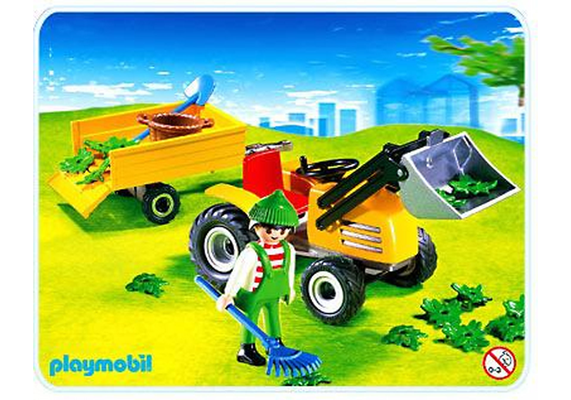 4486-A Gartentraktor/Anhänger zoom image1